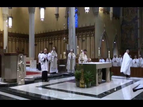 Mass with Bishop Thomas and Bishop Perez