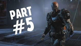 Batman: Arkham Origins Walkthrough Gameplay Part 5 - Deathstroke (Let