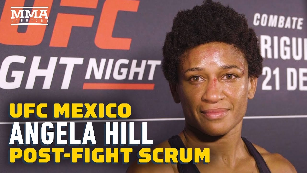 UFC Mexico: Angela Hill Hopes for Even 'Nastier' Finish Next Time - MMA Fighting