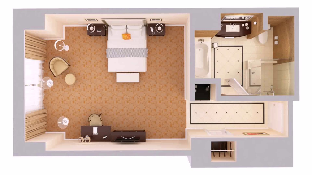 Floor plan for massage room youtube for Plan out your room online free