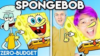 SPONGEBOB WITH ZERO BUDGET! (Spongebob LANKYBOX PARODY)
