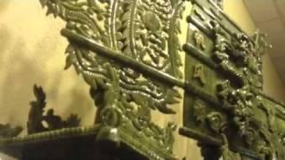 Jade stone ship