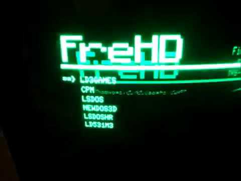 FreHD Images Copy Onto SD Card
