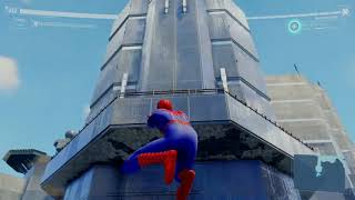 Spider-Man PS4 out of map glitch