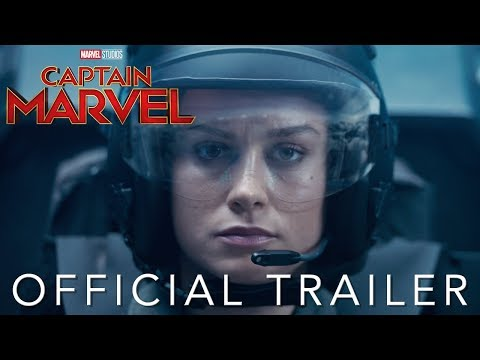 Marvels First Official Trailer for 'Captain Marvel'