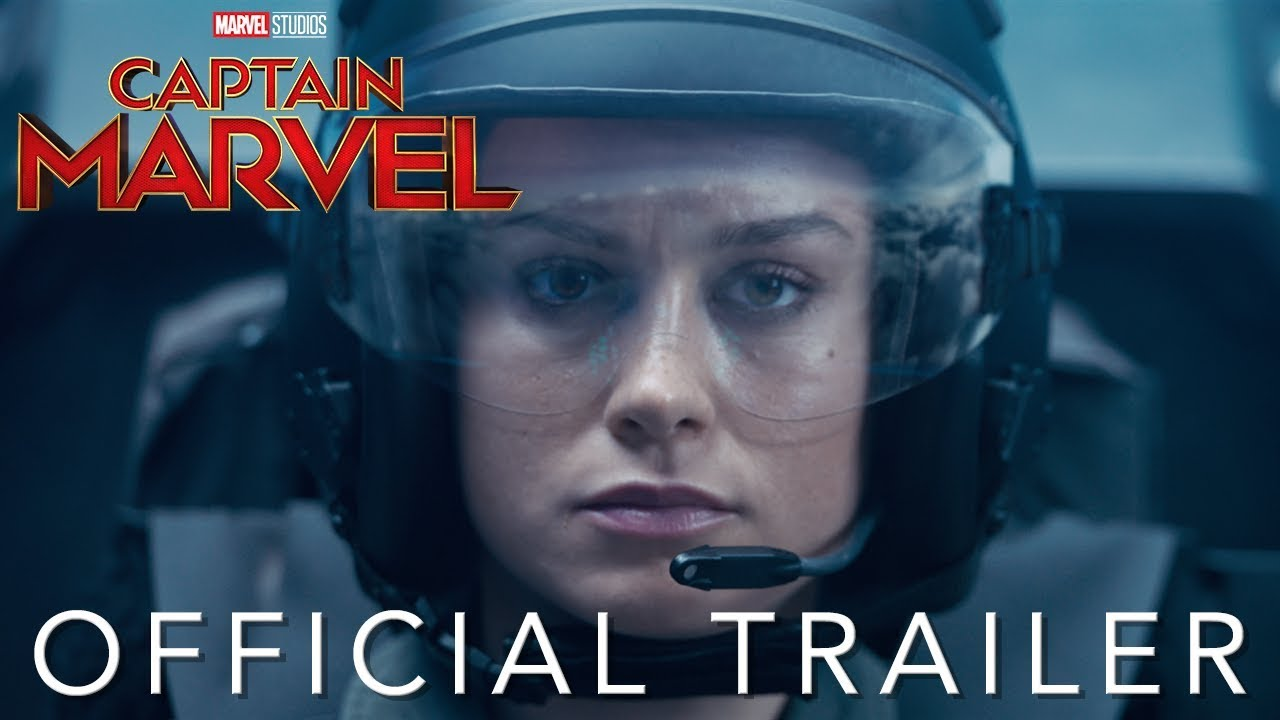 Marvel Studios Captain Marvel Official Trailer Youtube