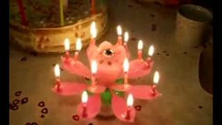 свеча музыкальная.avi(Праздничный феерверк в виде цветка со свечками и музыкой., 2012-03-28T07:45:23.000Z)