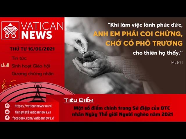 Radio thứ Tư 16/06/2021 - Vatican News Tiếng Việt