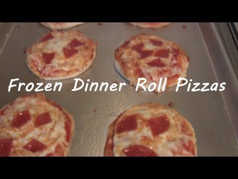 Frozen Dinner Roll Pizzas