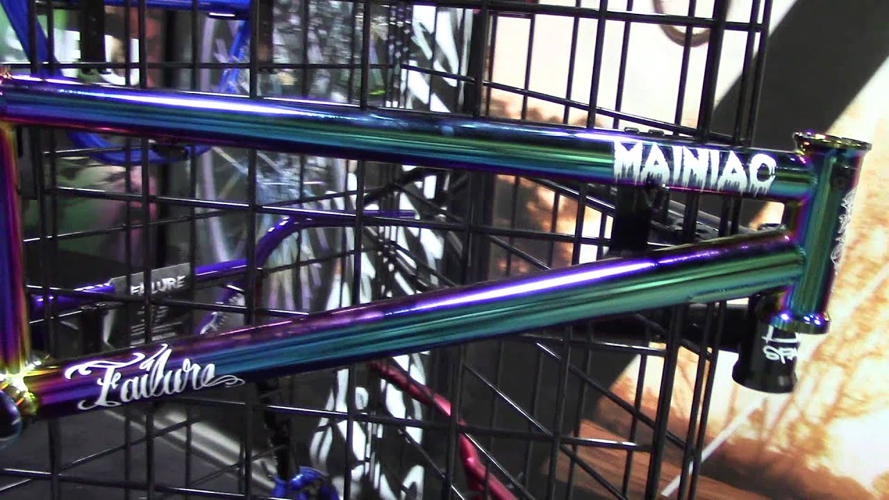 Failure Maniac Change Color Frame Bmx Interbike 2013