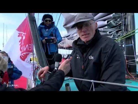 Nandor Fa termine 8ème du Vendée Globe