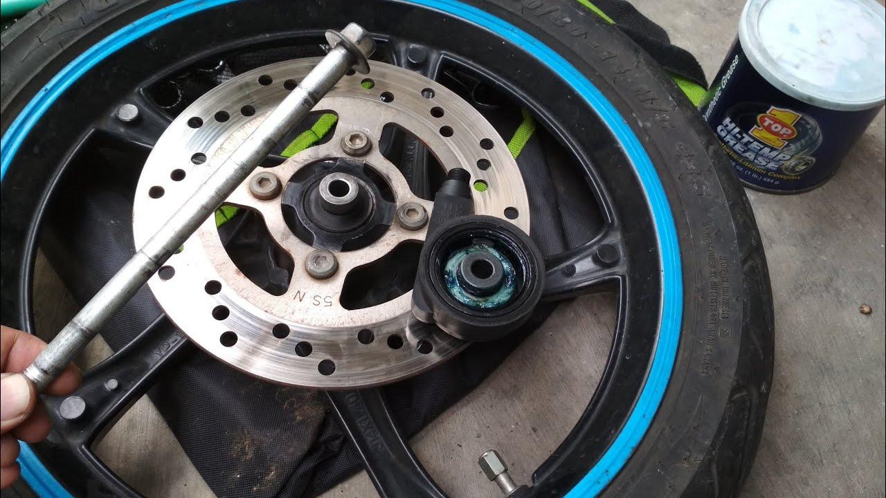 Cara Merawat Bearing Seal Roda Depan Dan Gearbox Speedometer Yamaha Mio Sporty Java Motorland Youtube Java Roda