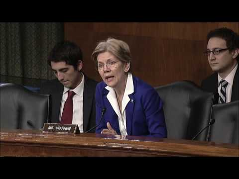 Elizabeth Warren   Senate Aging Committee   Opening Statement