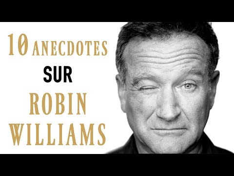 10 ANECDOTES SUR... ROBIN WILLIAMS