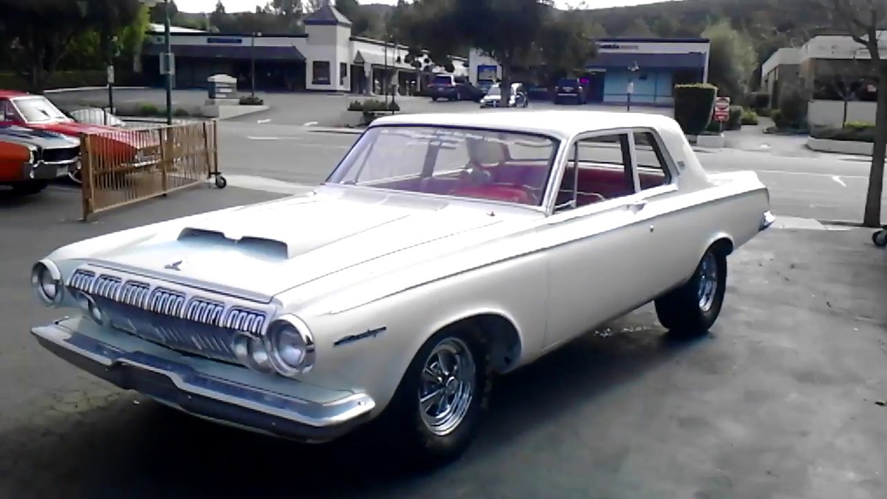 1963 As Is For Sale In Tbilisi: 1963 DODGE 330 LIGHTWEIGHT