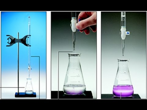 Laboratory Instruments Cleaning Calibration And Titration