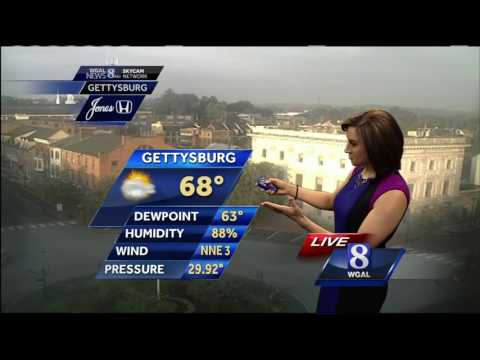Few thunderstorms, warm and humid Friday | 1ClickDaily com