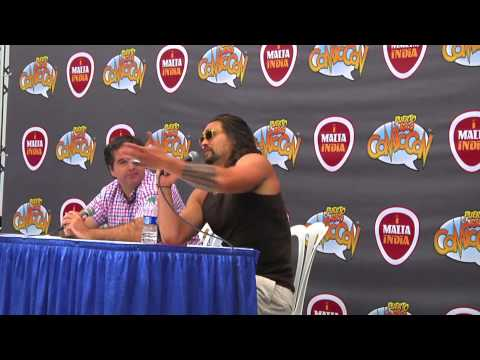 Jason Momoa Q&A Panel @ Puerto Rico Comic Con 2015