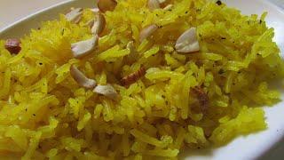 Zarda pulao recipe/Meethe chawal recipe/Zarda sweet rice recipe/Zarda easy recipe in Hindi