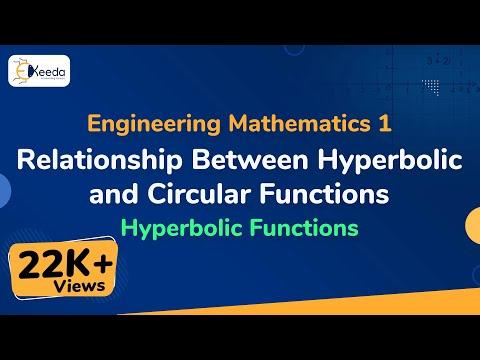 Relationship between Hyperbolic and Circular functions - Hyperbolic Functions - Engineering Maths 1