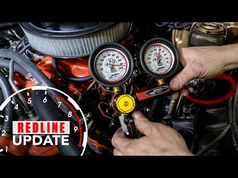 How to diagnose engine oil consumption. Compression and leak-down test | Redline Update #6