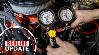 How to diagnose engine oil consumption. Compression and leak-down test   Redline Update #6