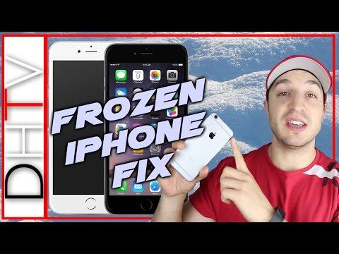 Fix Frozen Iphone Ipad