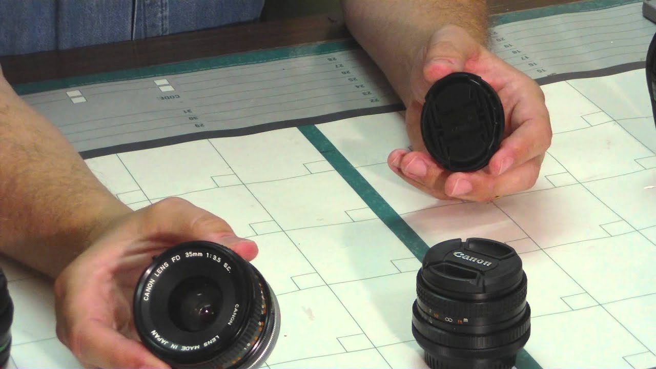 FD Lenses for Canon EOS Cameras Part 1: Ignore the Glass Snobs - YouTube