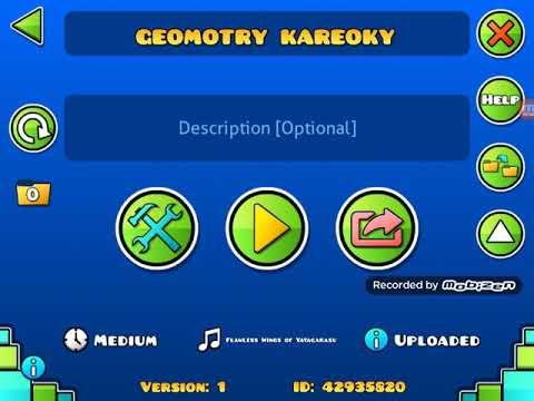 Me singing my level geometry karaoke