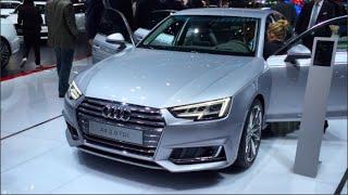 Audi A4 2.0 Tdi 2016 In Detail Review Walkaround Interior Exterior