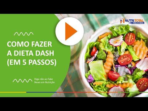 COMO FAZER A DIETA DASH?   Nutritotal