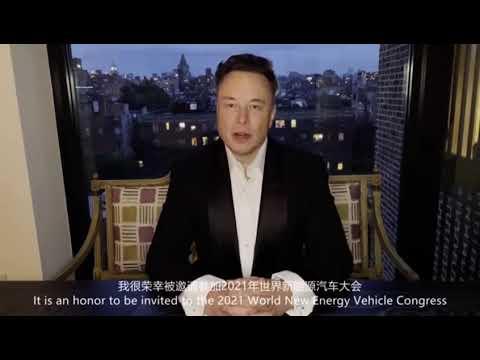 Elon Musk about Future Development of China's EV Market, autonomous driving and data safety.