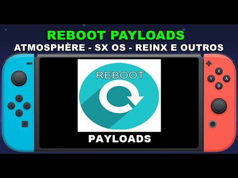 REBOOT PAYLOADS - QUALQUER PAYLOAD BIN - NINTENDO SWITCH