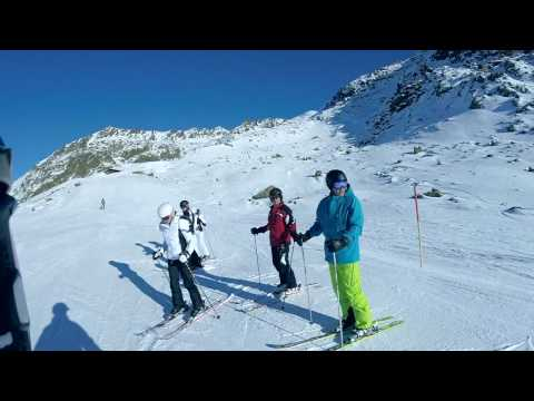 Travelling From Obergurgl To Hochgurgl 2016