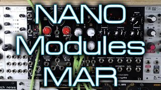 NANO Modules MAR - Dual multi channel Eurorack mixer + tips on patching feedback and send/return FX