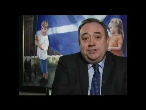 Yes Scotland We Have a Dream Alex Salmond Sings
