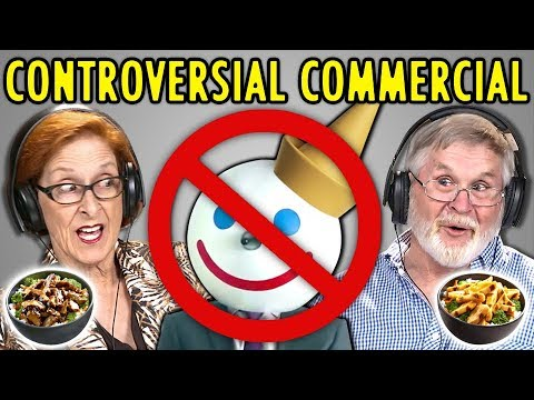 "Elders React To Controversial ""Balls"" Commercial (Jack In The Box Ad)"