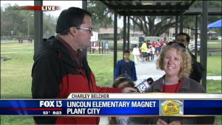 Charley Cool School - Lincoln Elementary Magnet - 820am