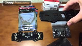 Construir un drone de carreras quadcopter. Herramientas y Materiales.