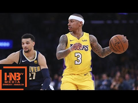 Los Angeles Lakers vs Denver Nuggets Full Game Highlights / March 13 / 2017-18 NBA Season