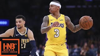Los Angeles Lakers vs Denver Nuggets Full Game Highlights / March 13 / 2017-18 NBA Season