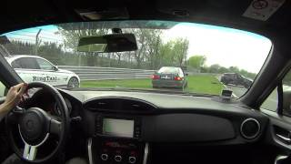 Nurburgring Nordschleife 06.05.2017 Clio Crash from behind