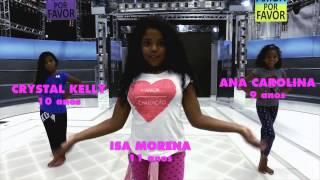 """Isa Morena ensina a dançar """"Vou Desafiar Você"""", de MC Sapão"""