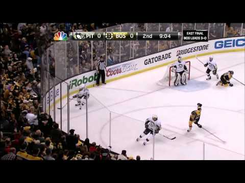 Bruins-Penguins Game 4 2013 Conference Finals w/Goucher & Beers 6/7/13