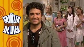 Una familia de Diez - C-17: ¡Jaime Camil pudo ser el novio de la Nena! | Televisa