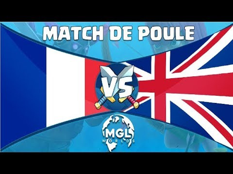 CLASH ROYALE WORLDS / FRANCE vs ROYAUME UNI !