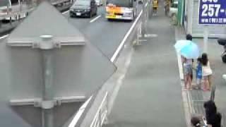 R246に入り吉野屋で休憩後、マクドナルド246座間店前を通過する姿.