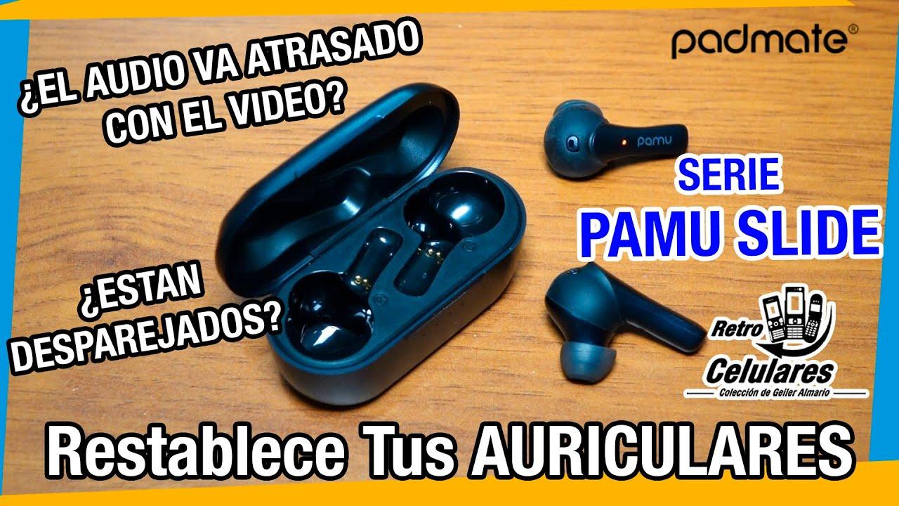 ¿AUDIO DESFASADO? Restablece Tus Auriculares Serie Pamu Slide FÁCIL / Retro Celulares & Más
