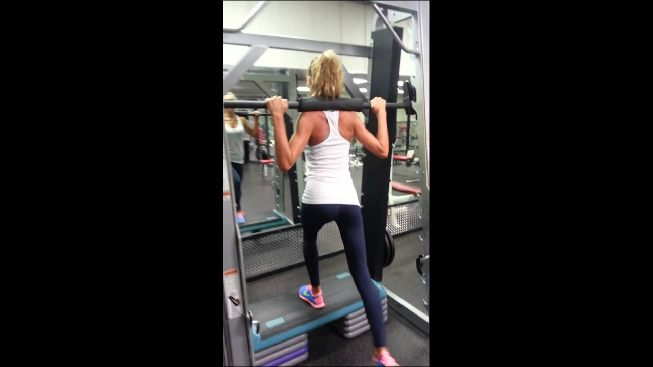 lunges on smith machine