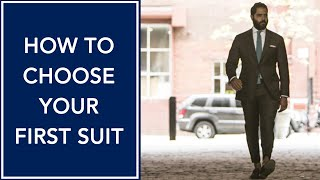 How To Choose Your First Suit | Building a Custom Wardrobe With Angel Gomes